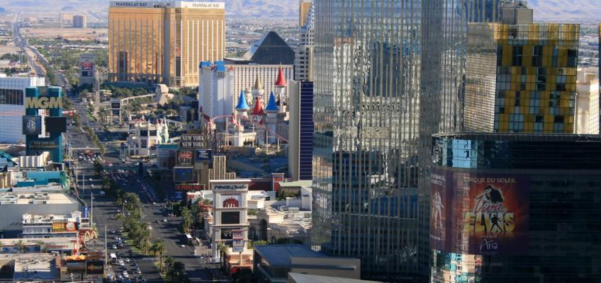 Durch die Wüste nach Las Vegas